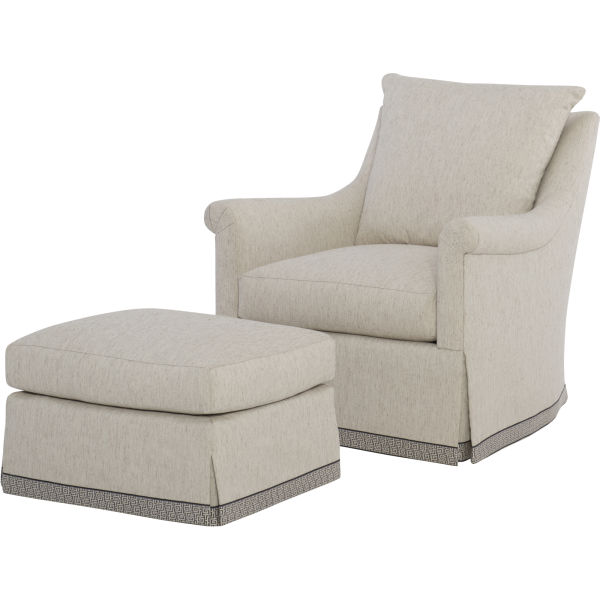 Thayer Chair and Ottoman
