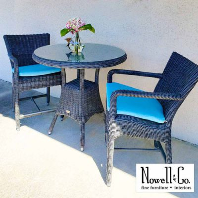 Outdoor Wicker Dinette