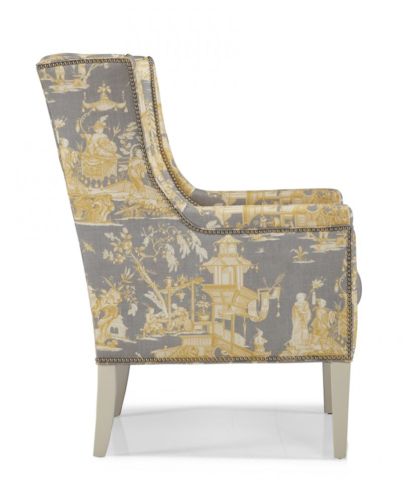 Hunter Wing Chair - Side View