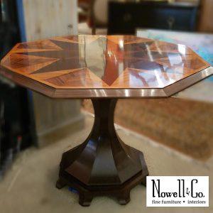 Inlay Octagon Table