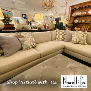 Sectional Sofa in the Showroom
