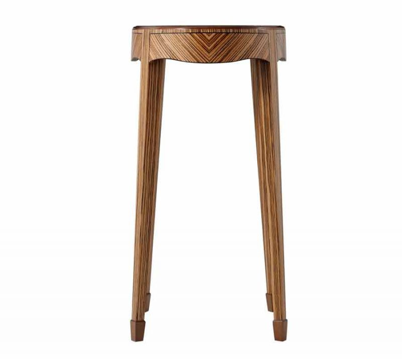 Odetta Accent Table - Side View