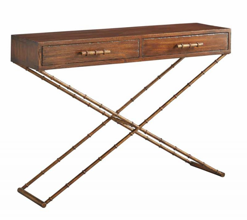 Anubis Cross Leg Console Table