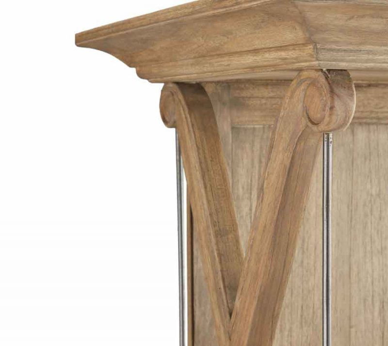 Brevard Bookcase - Detailed View