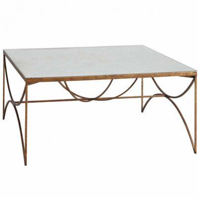Darrow Iron Leg Coffee Table