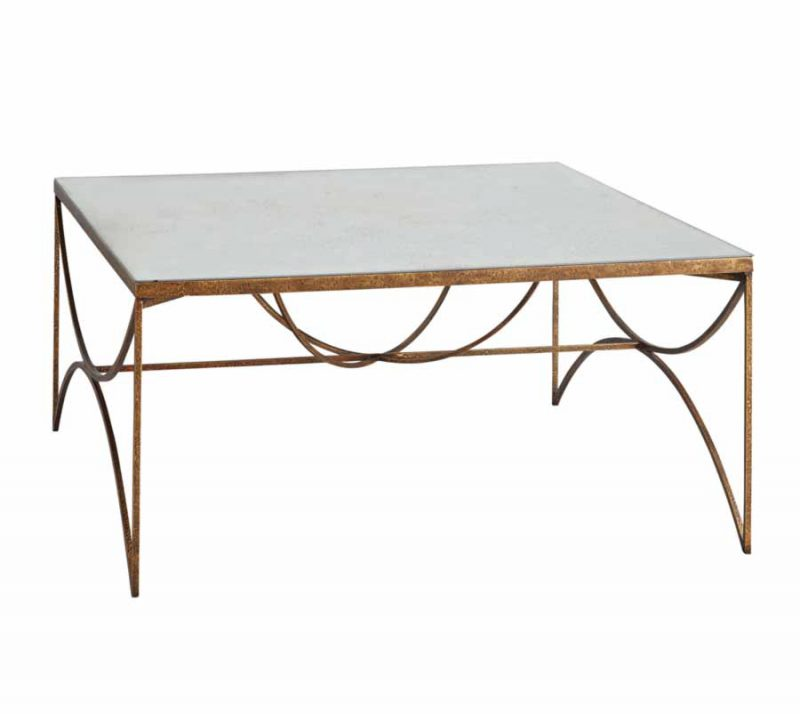 Darrow Iron Leg Coffee Table