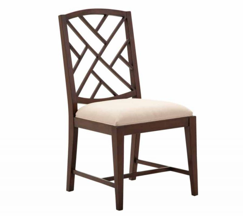 Fretwork Dining Side Chair