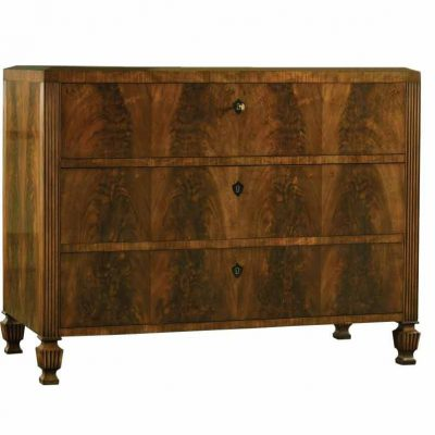 Italian Burl Commode