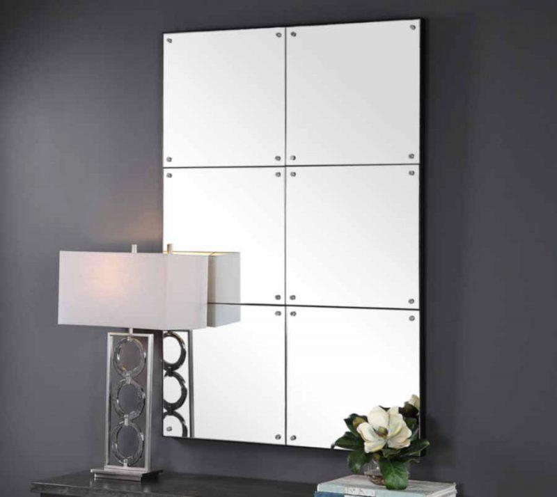 Eldred Mirror - Staged Side View