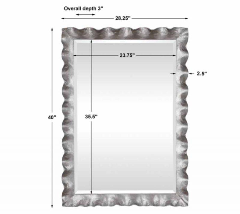 Haya Mirror - Dimensions