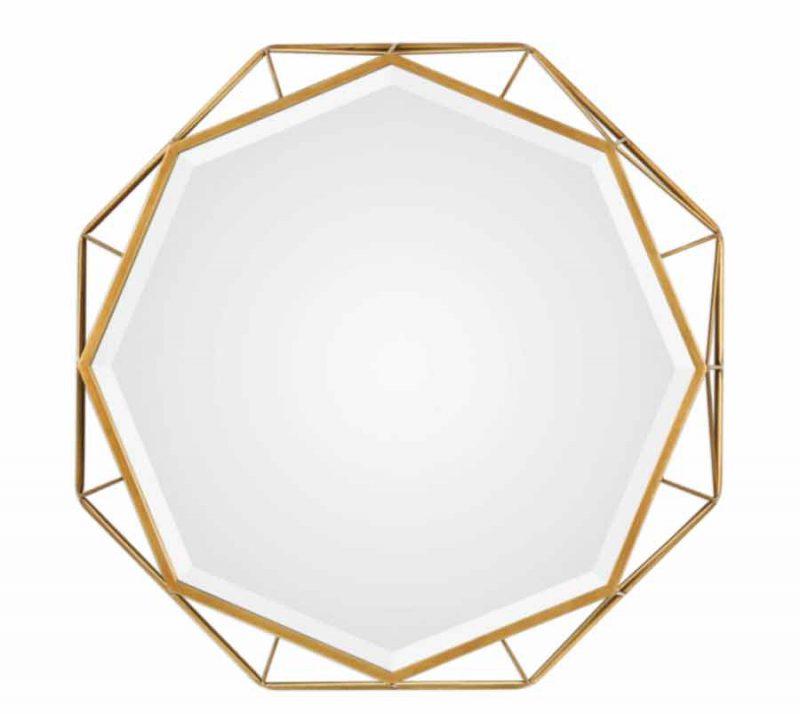 Mekhi Octagonal Mirror