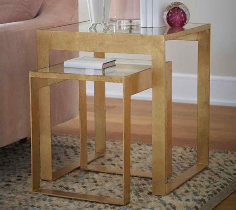 Stacking Side Table - Staged
