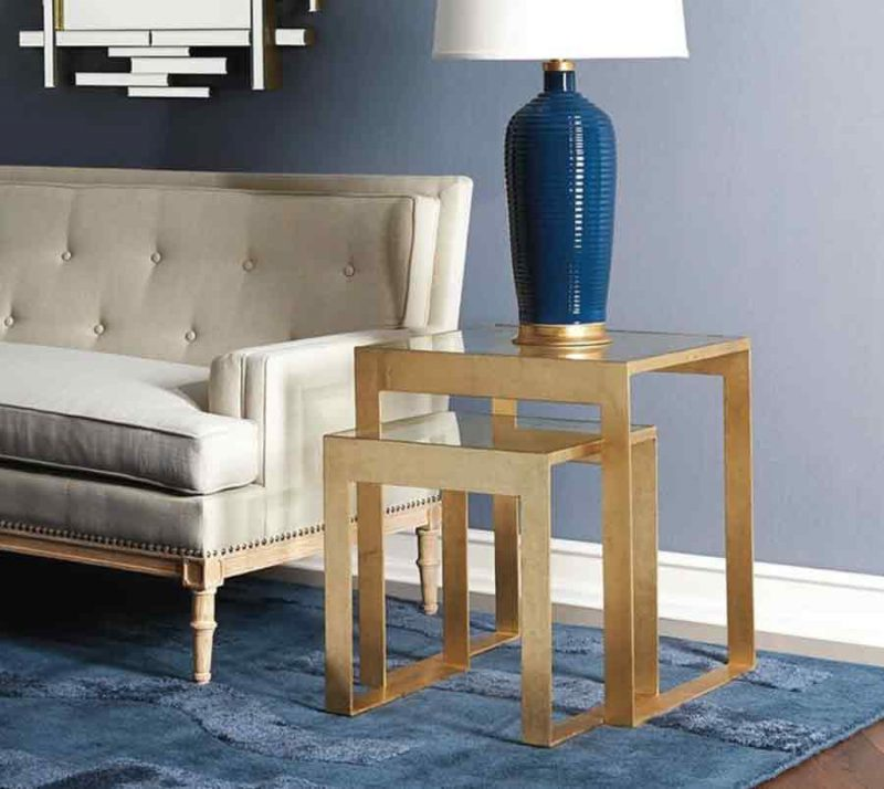 Stacking Side Table - Staged View