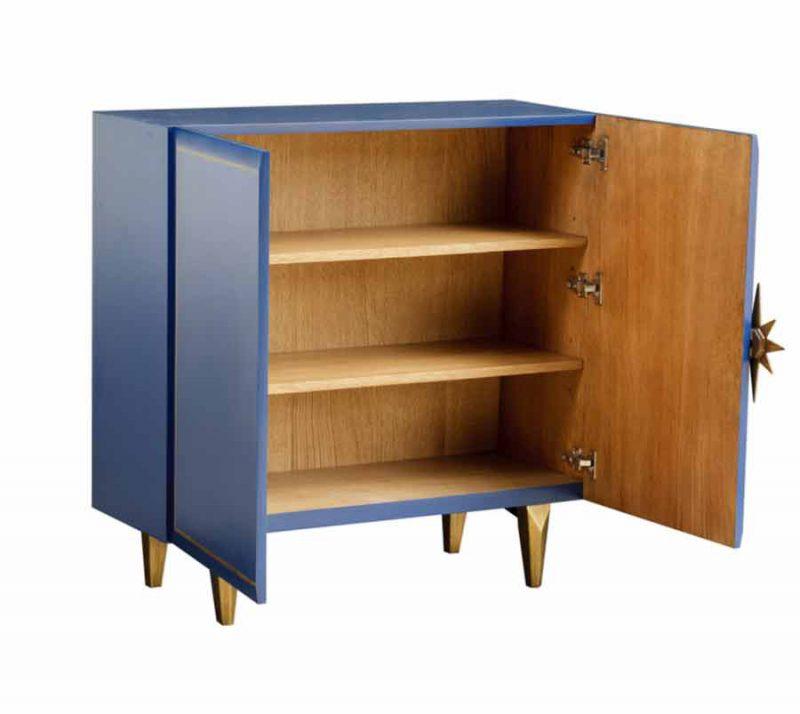 Starward Two-Door Cabinet - Open